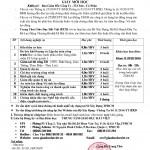 Thông báo lịch khai giảng tại TPHCM