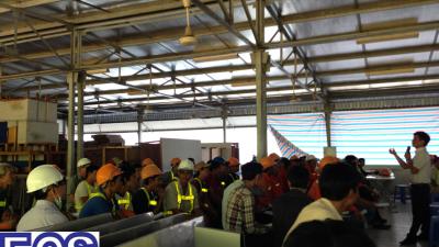Huấn luyện an toàn lao động trong xây dựng 1