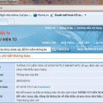 Thông tư số 07/2015 của Bộ Kế Hoạch ĐT về đăng tải thông tin nhà thầu