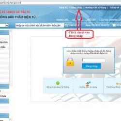 Hướng dẫn các bước nhận dịch vụ đăng ký thông tin nhà thầu lên mạng đấu thầu Quốc Gia